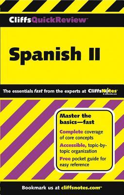 "Spanish II (Cliffs Quick Review) (v. 2), ""Rodriguez, Jill"""