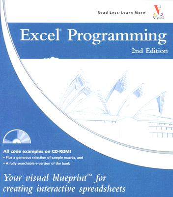 Image for Excel Programming: Your visual blueprint for creating interactive spreadsheets