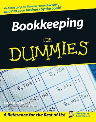 Bookkeeping For Dummies, Epstein, Lita
