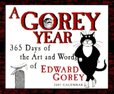 Image for 365 Days of Art and Words of Edward Gorey 2001 Calendar