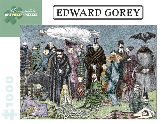 Image for Edward Gorey - Edward Gorey: 1,000 Piece Puzzle