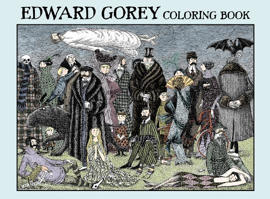 Image for Edward Gorey: Coloring Book