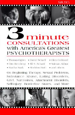 Image for 3-Minute Consultations With America's Greatest Psychotherapists