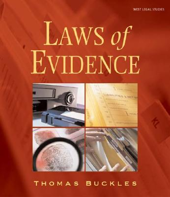 Image for Laws of Evidence (The West Legal Studies Series)