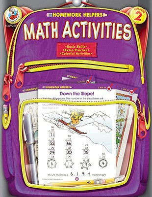 Image for Math Activities, Grade 2 (Homework Helper)