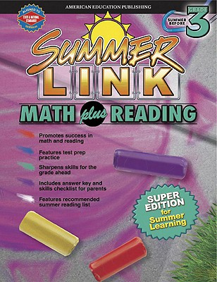 Image for Summer Link Math plus Reading, Summer Before Grade 3