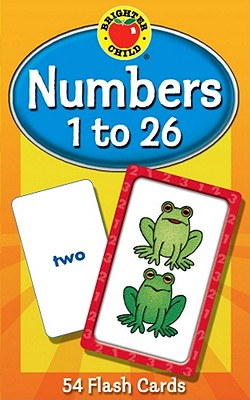 Numbers 1 to 26 Flash Cards, Grades PK - 1 (Brighter Child Flash Cards), Brighter Child [Compiler]