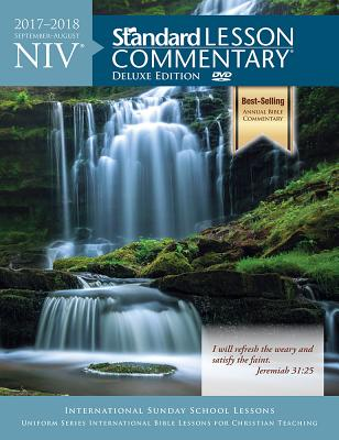 Image for NIV Standard Lesson Commentary? Deluxe Edition 2017-2018