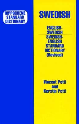 Image for Swedish/English-English/Swedish Standard Dictionary (Hippocrene Standard Dictionary)