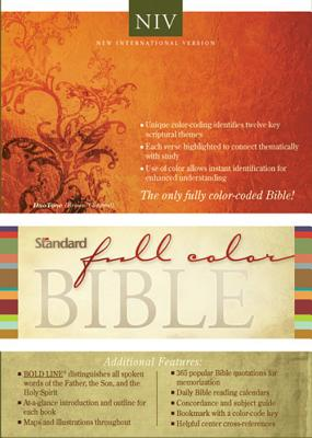 Image for Standard Full Color Bible (New International Version, Italian Duo-Tone Leather, Brown and Chestnut)