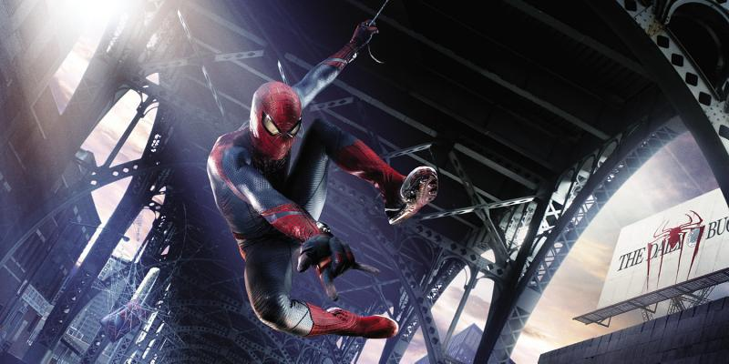 Image for AMAZING SPIDER-MAN: BEHIND THE SCENES AND BEYOND THE WEB