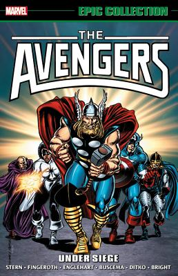 Image for Avengers Epic Collection: Under Siege (Epic Collection: The Avengers)