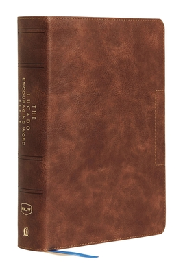 Image for NKJV, Lucado Encouraging Word Bible, Leathersoft, Brown, Comfort Print: Holy Bible, New King James Version