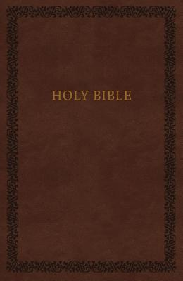"Image for ""KJV Comfort Print Holy Bible, Soft Touch Edition, Imitation Leather, Brown"""