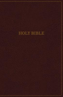 Image for KJV, Thinline Bible, Standard Print, Imitation Leather, Burgundy, Indexed, Red Letter Edition