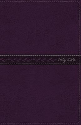 Image for KJV, Thinline Bible, Standard Print, Imitation Leather, Purple, Indexed, Red Letter Edition