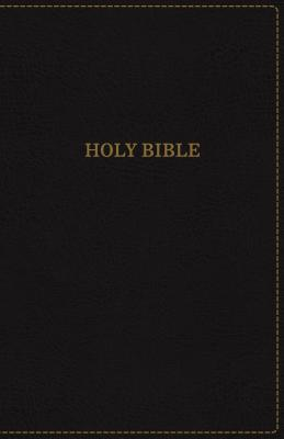 Image for KJV Thinline Bible Large Print Leather Look Black Indexed