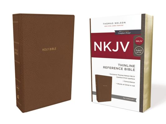Image for NKJV, Thinline Reference Bible, Leathersoft, Tan, Red Letter Edition, Comfort Print: Holy Bible, New King James Version