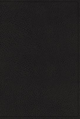 "Image for ""''NKJV Comfort Print Single-Column Reference Bible, Premium Leather, Black, Premier Collection''"""