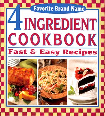 Image for 4-INGREDIENT COOKBOOK