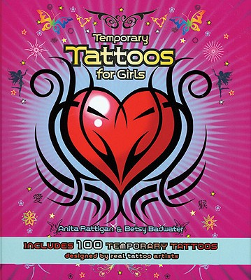 Image for Temporary Tattoos for Girls: Includes 100 Temporary Tattoos