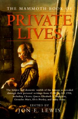 Image for The Mammoth Book of Private Lives (Mammoth Books)