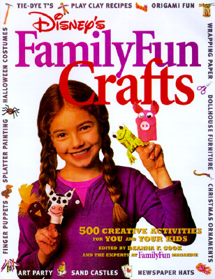 Image for Disney's FamilyFun Crafts: 500 Creative Activities for You and Your Kids