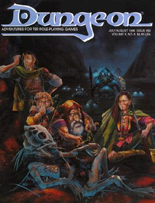Image for Dungeon Adventures for Tsr Role-Playing Games: Issue No. 60 (Bi-Monthly Magazine)