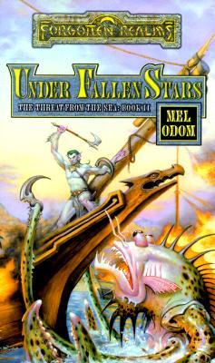 UNDER FALLEN STARS FR:THREAT FROM SEA #002, FORGOTTEN REALMS - ODOM, MEL