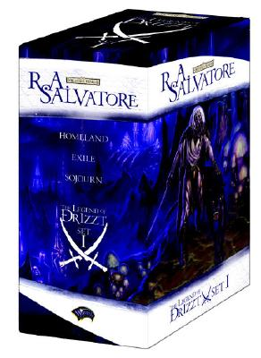 The Legend of Drizzt Boxed Set, Books I-III (Set 1, Bks. 1-3), Salvatore, R.A.