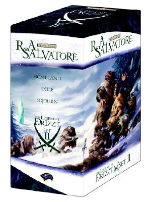 The Legend of Drizzt Boxed Set, Books IV-VI (Set 2, Bks. 4-6), Salvatore, R.A.