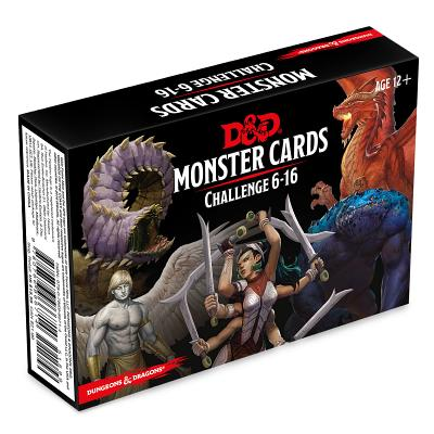 Image for Wizards of the Coast Dungeons & Dragons Spellbook Cards: Monsters 6-16 (D&D Accessory)