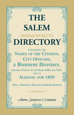 Image for The Salem [Massachusetts] Directory
