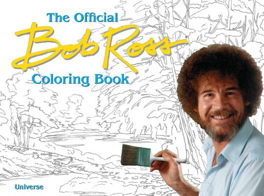 Image for OFFICIAL BOB ROSS COLORING BOOK