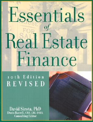 Image for Essentials of Real Estate Finance, 10th Edition