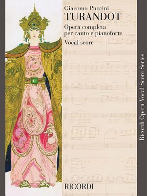 TURANDOT VOCAL SCORE PAPER   ENGLISH ITALIAN              NEW ART COVER