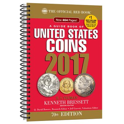Image for A Guide Book of United States Coins 2017: The Official Red Book, Spiralbound Edition