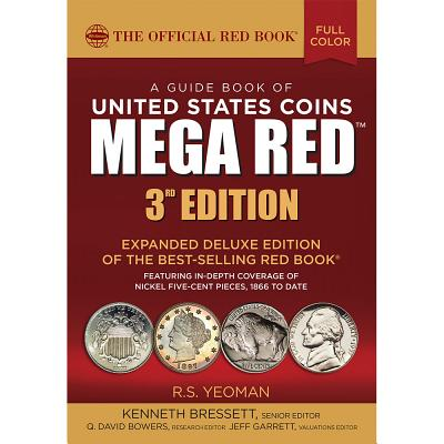 Image for GUIDE BOOK OF UNITED STATES COINS MEGA RED 3RD EDITION