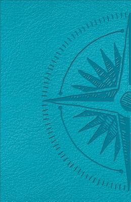 Image for CSB Heart of God Teen Study Bible Teal, Compass Design LeatherTouch