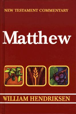 Image for Matthew (New Testament Commentary)