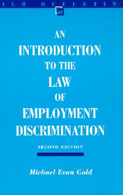 Image for Introduction to the Law of Employment Discrimination (ILR Bulletin)