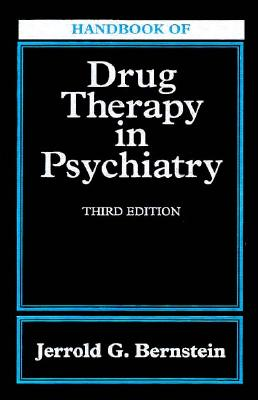 Image for Handbook of Drug Therapy In Psychiatry, 3e