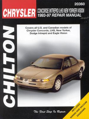 Chrysler Concorde, Intreped, LHS, New Yorker, and Vision, 1993-97 (Chilton's Total Car Care Repair Manual), Chilton
