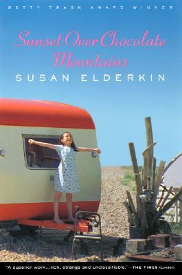 Sunset Over Chocolate Mountains, Elderkin, Susan