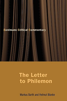 The Letter to Philemon, Barth, Markus