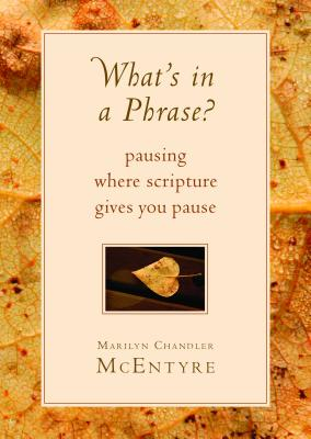 Image for What's in a Phrase?: Pausing Where Scripture Gives You Pause