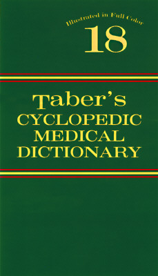 Image for TABER'S CYCLOPEDIC MEDICAL DICTIONARY EDITION 18 18TH EDITION