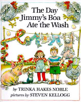 Image for The Day Jimmy's Boa Ate the Wash,  Weekly Reader Book Club Edition