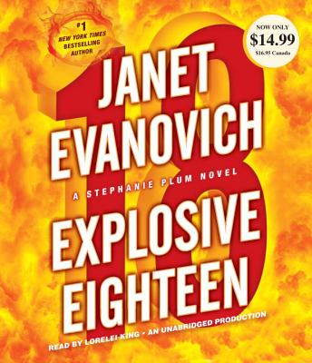 Image for Explosive Eighteen: A Stephanie Plum Novel (Stephanie Plum Novels)