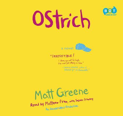 Ostrich Audiobook CD, Matt Greene  (Author)